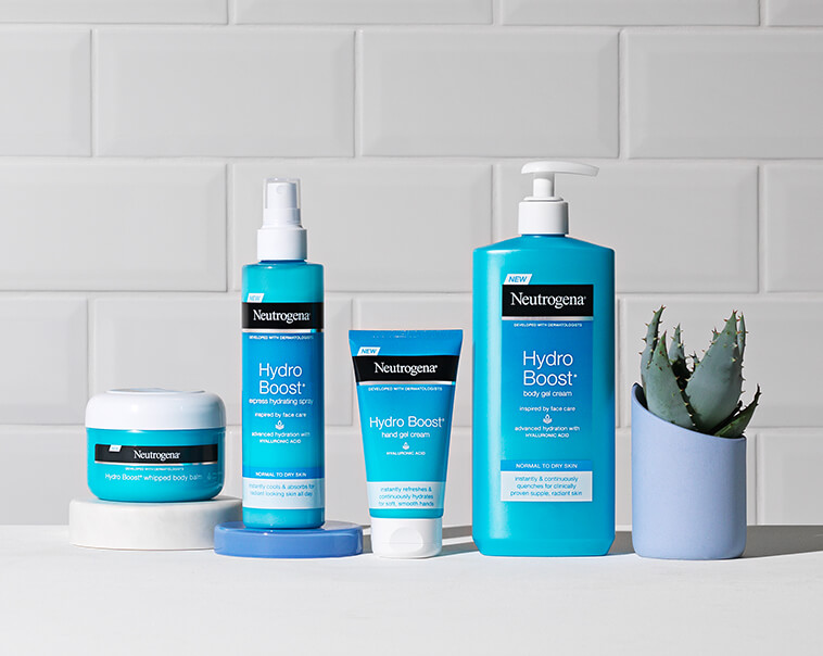 Hydro Boost. Hydro Boost provides advanced hydration by locking in moisture and strengthening natural defences for clinically proven supple, radiant skin.