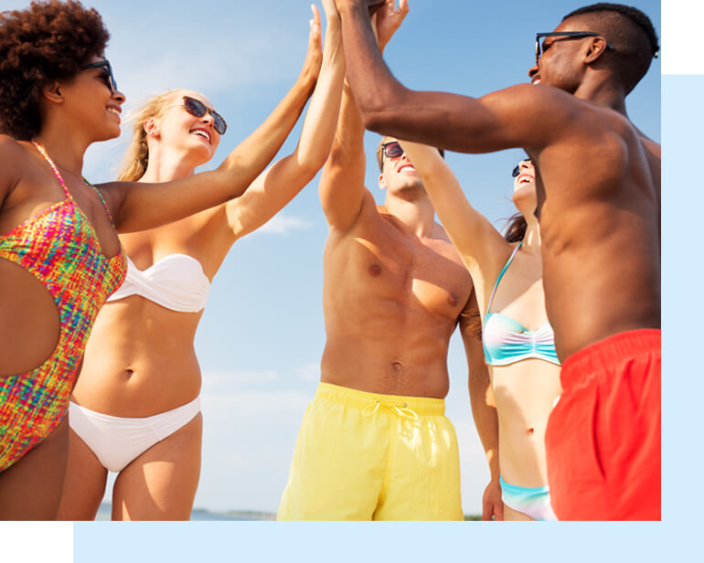 How to Feel Confident on the Beach. The thought of stripping down to your bikini in front of strangers is giving you nightmares? Read on for our tips on how to feel confident on the beach.