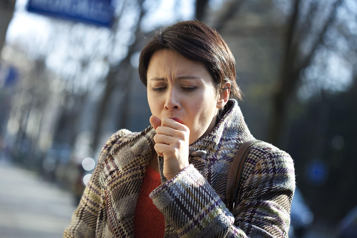 Coughing After Quitting. A cough is one of many withdrawal symptoms you may experience when quitting. Find out why you might cough more when becoming smoke-free.