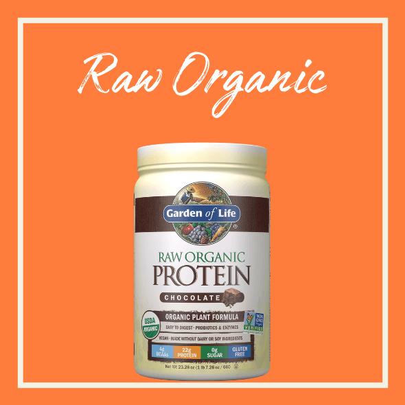 Raw Organic Protein Schokolade