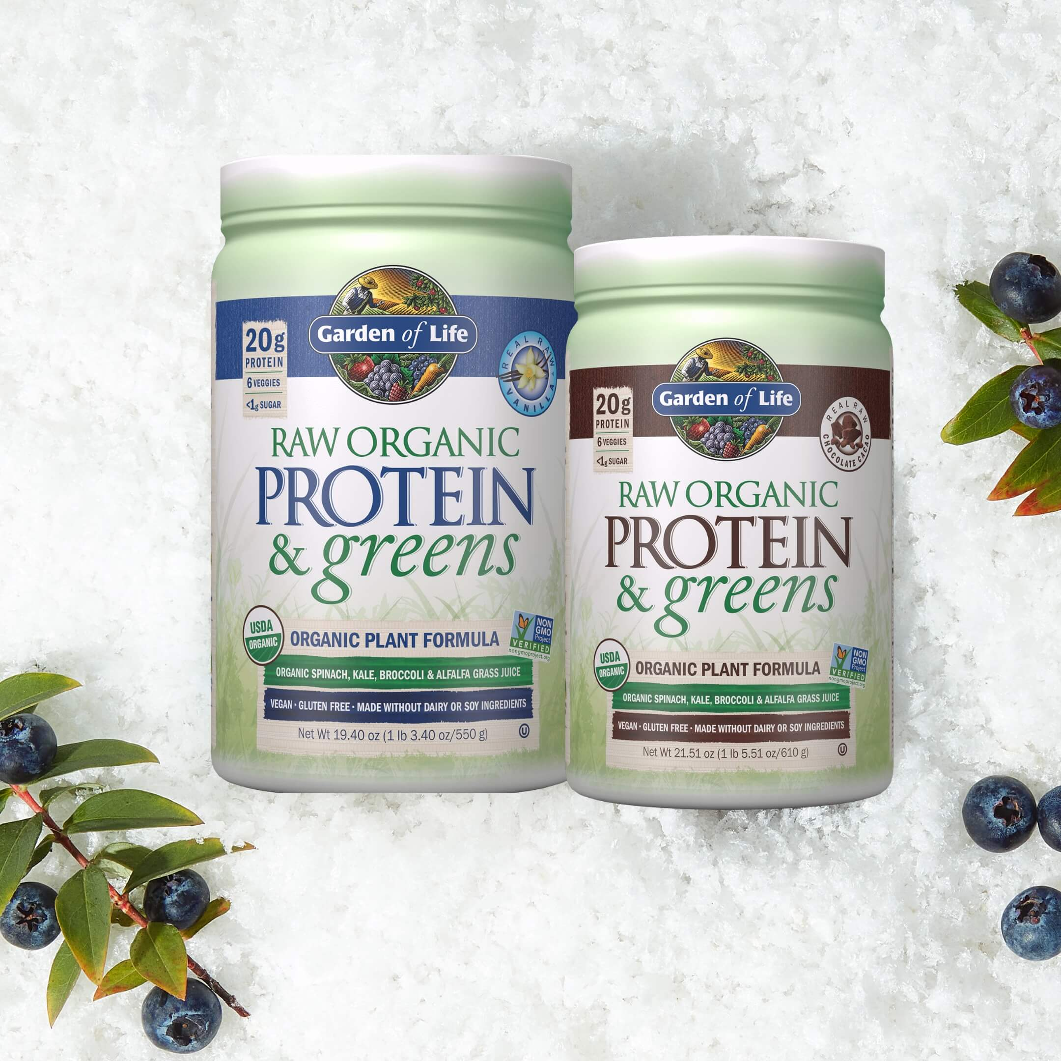 Whether you're looking to build your body mass or get the best out of plant protein, we've got the protein powder for you.