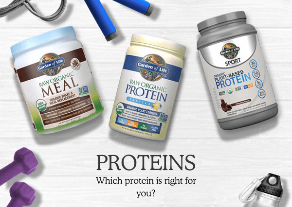 Proteins Landing Page - Primary Banner