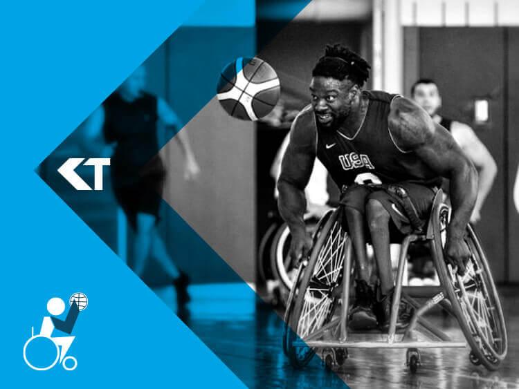 Matt Scott Paralympic Wheelchair Basketball