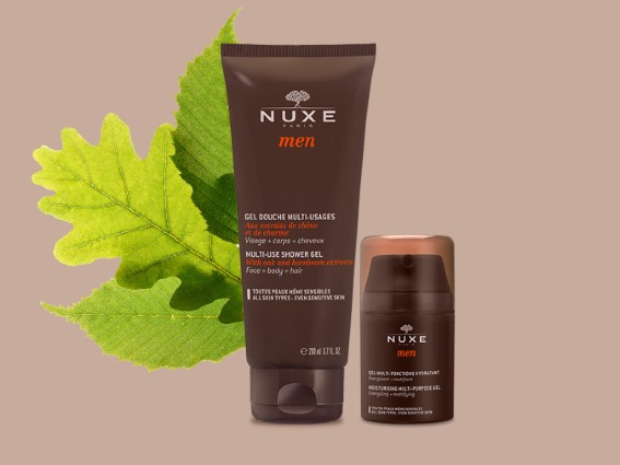 Mens .The next generation skincare for men, combining nature's forces with scientific efficacy.
