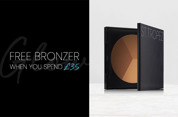 FREE BRONZER WHEN YOU SPEND £35