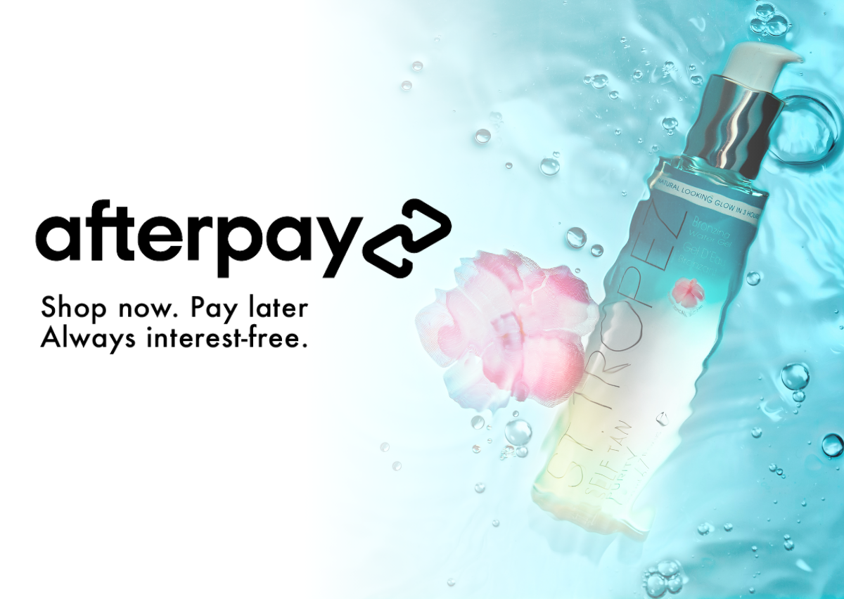 Afterpay, shop now. pay later.