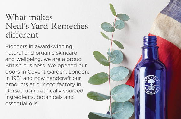 What Makes Neal's Yard Remedies Different