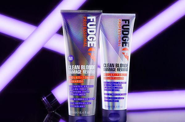 Fudge Professional Clean Blonde Damage Rewind Shampoo & Conditioner