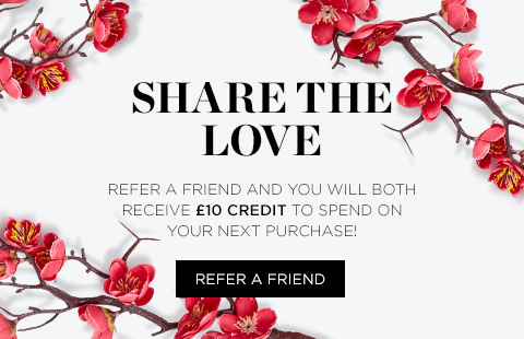 Spread the love and get £10 off your next purchase