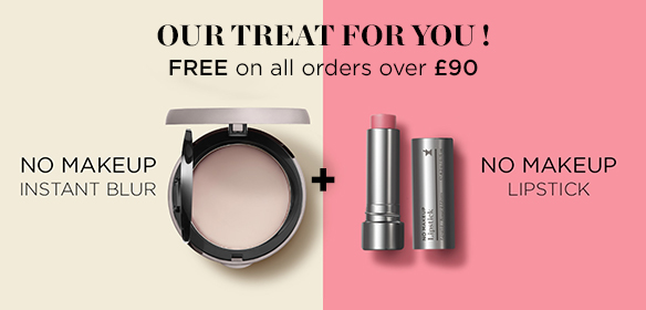FREE Instant Blur + Lipstick when you spend £90