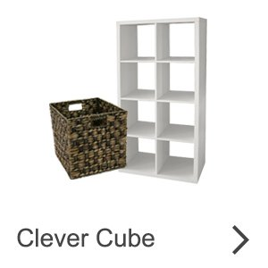 Clever Cube - shelves