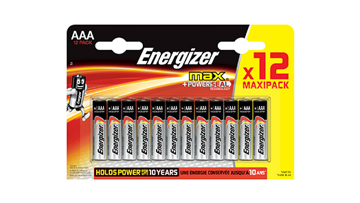 Non-rechargeable AAA Batteries