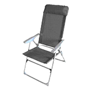 Aluminium High Back Chair Recall