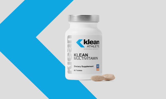 Klean Athlete multivitamin bottle