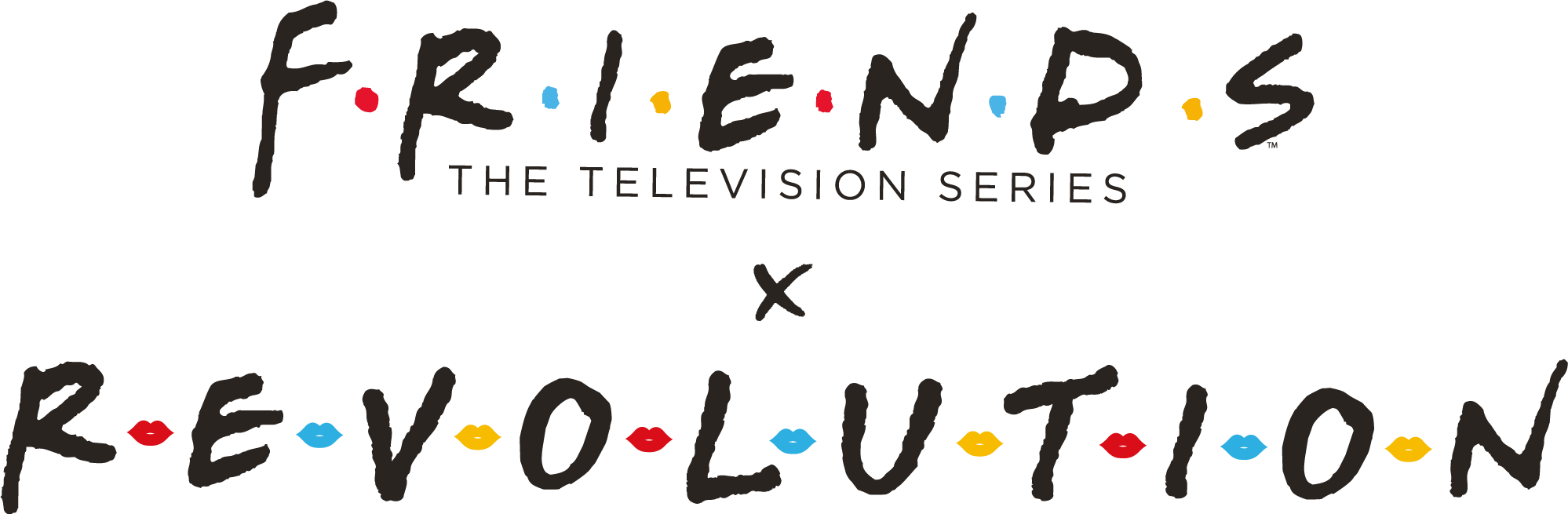FRIENDS THE TELEVISION SERIES X REVOLUTION