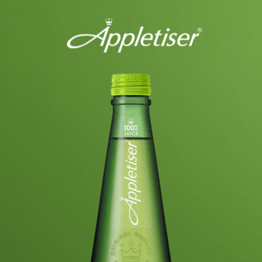 Bottle of Appletiser