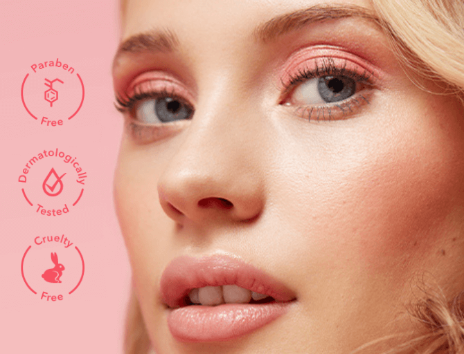 Look good, feel good. We offer a wide range of cruelty-free, paraben-free, dermatologically tested and ophthalmologically tested makeup to suit a variety of skin tones and skin types.