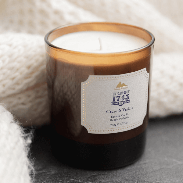 A selection of fragranced candles with a premium blend of soy, coconut, canola and beeswax