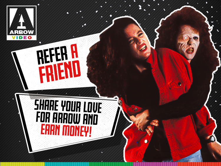 Refer a friend to Arrow US and receive money as credit on your account!