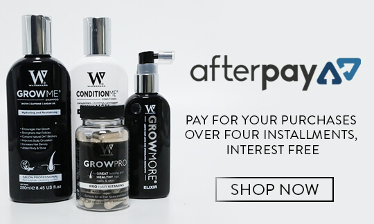 Afterpay, pay for your purchases over four installments, interest free. shop now.