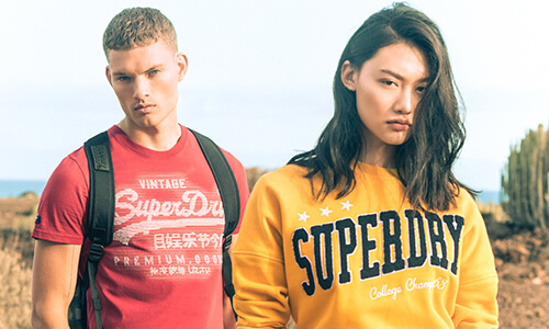 35% off Superdry with code 1111SUPER