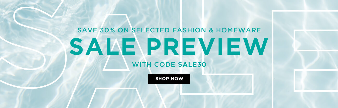 30% Sale Preview use code SALE30