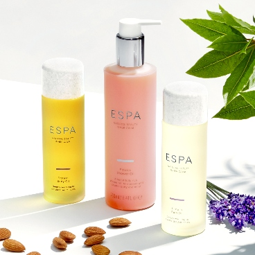 ESPA Free free Mind & Body Collection when you spend £75 on the range!