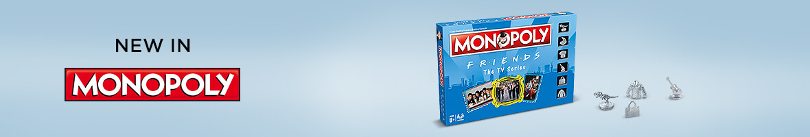 New Monopoly Friends Edition