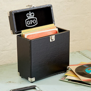 GPO Vinyl Record Carry Case