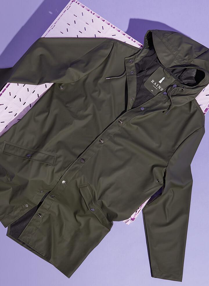 Weatherproof coats