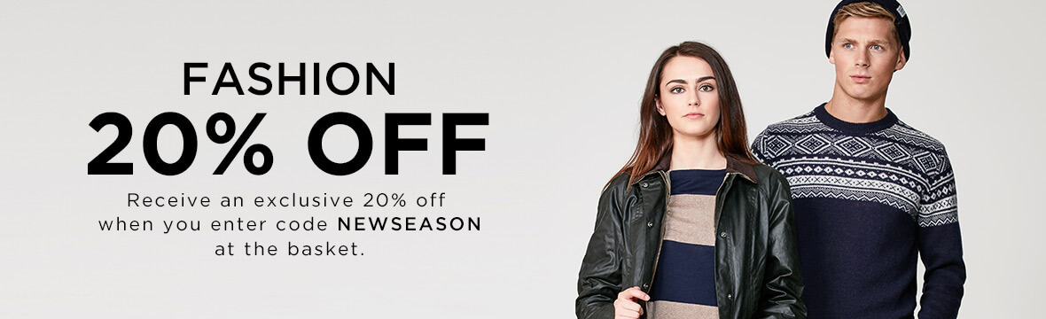 20% off New Season