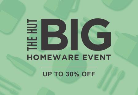 The Hut Homeware Event