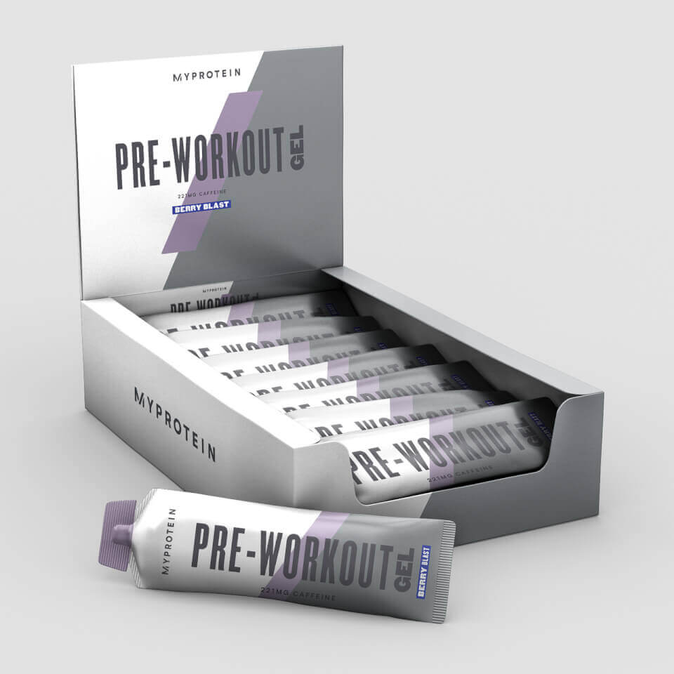 Best Pre-Workout Gel