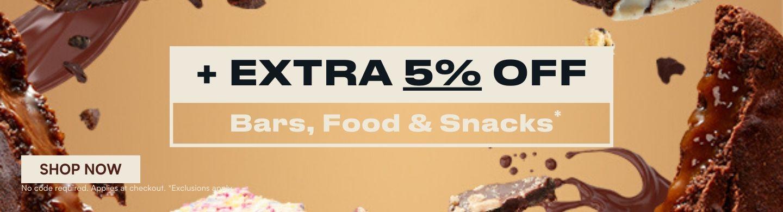 extra 5% BFS