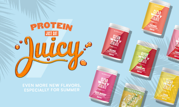 .Protein just got juicy. Even more flavors, now available this Summer!