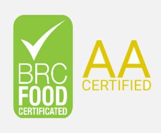 AA Bewertung für Lebensmittel Sicherheit