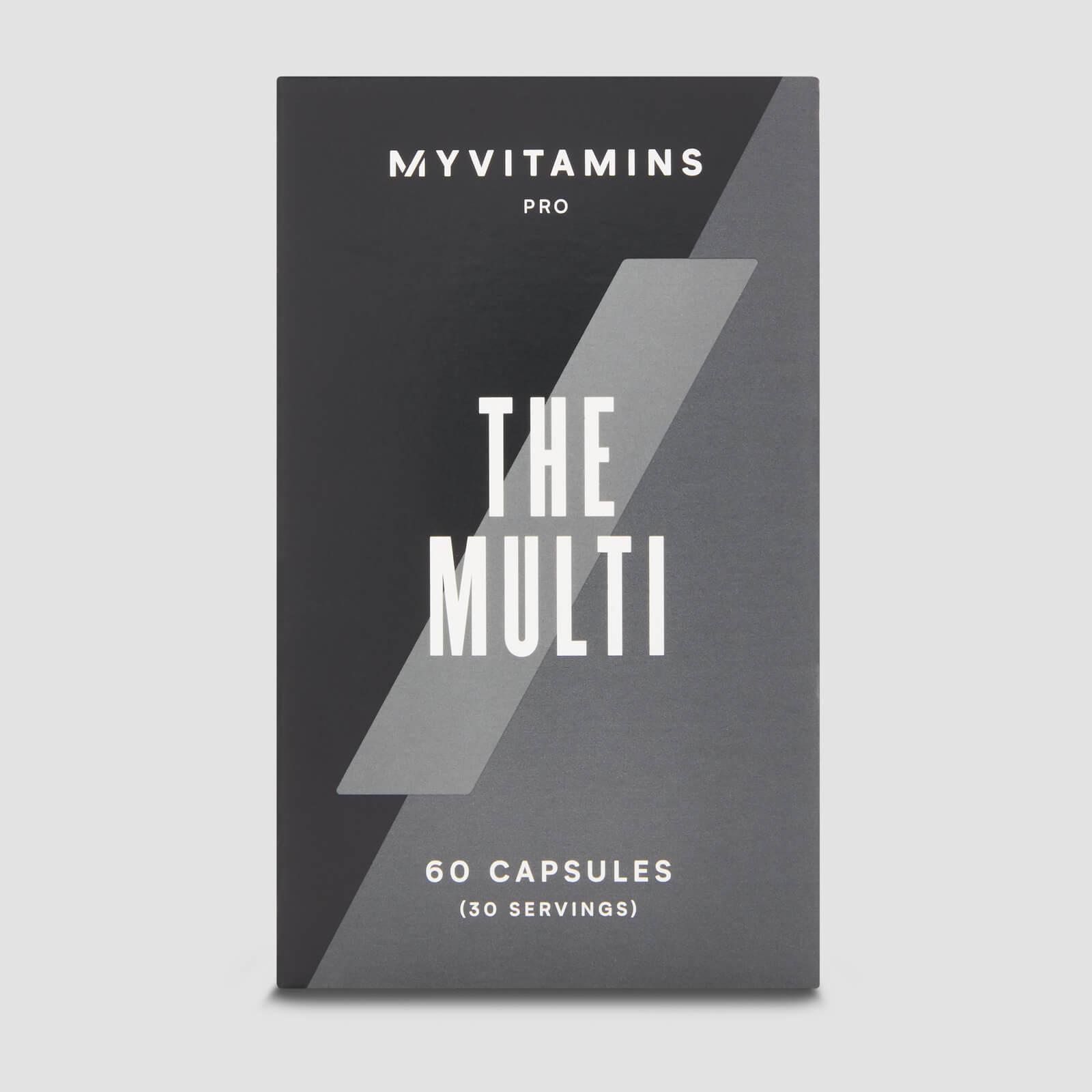 THE Multi Vitamine mit Bioverfügbarkeit
