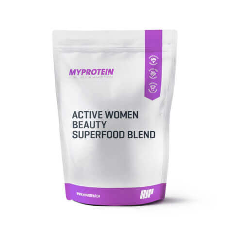 Active women beauty superfood blend