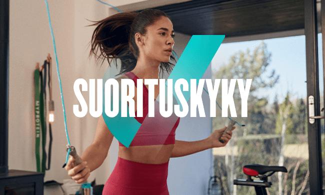 OSTA SUORITUSKYKY-TUOTTEITA