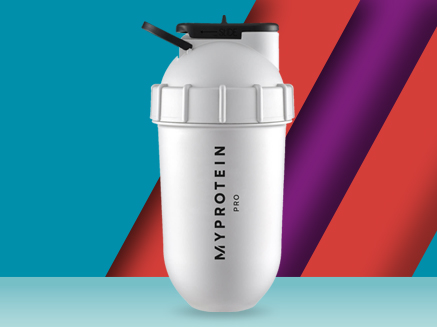 Myprotein Limited Edition White Shakesphere Shaker