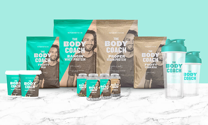The Body Coach range