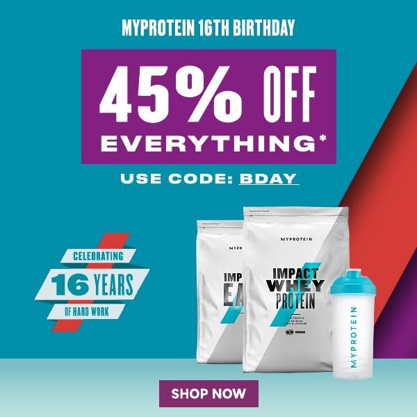 Myprotein BIRTHDAY