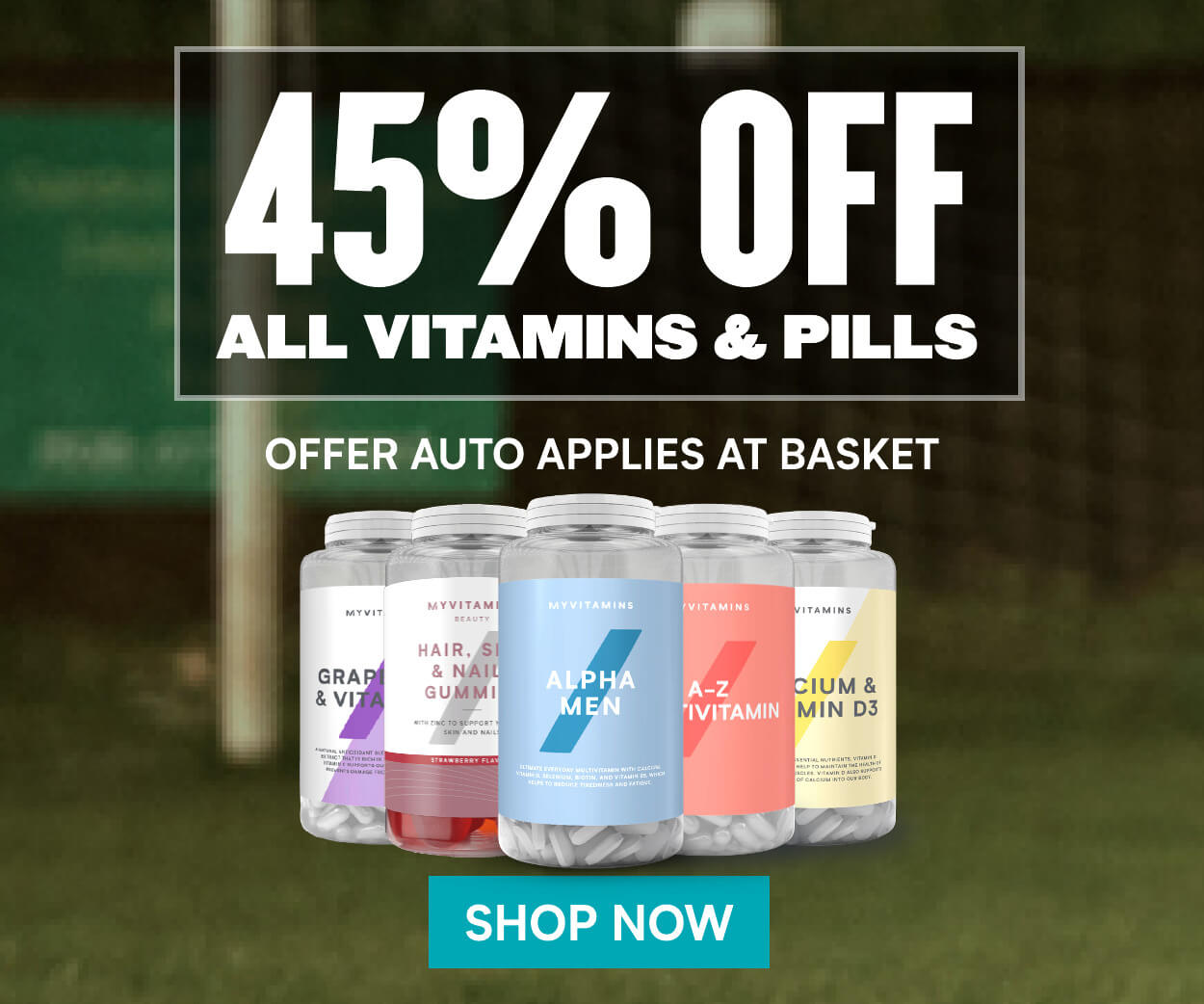 45% off vitamins