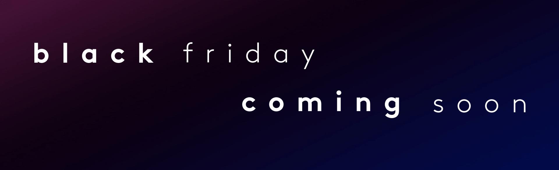 Black Friday | Myvitamins