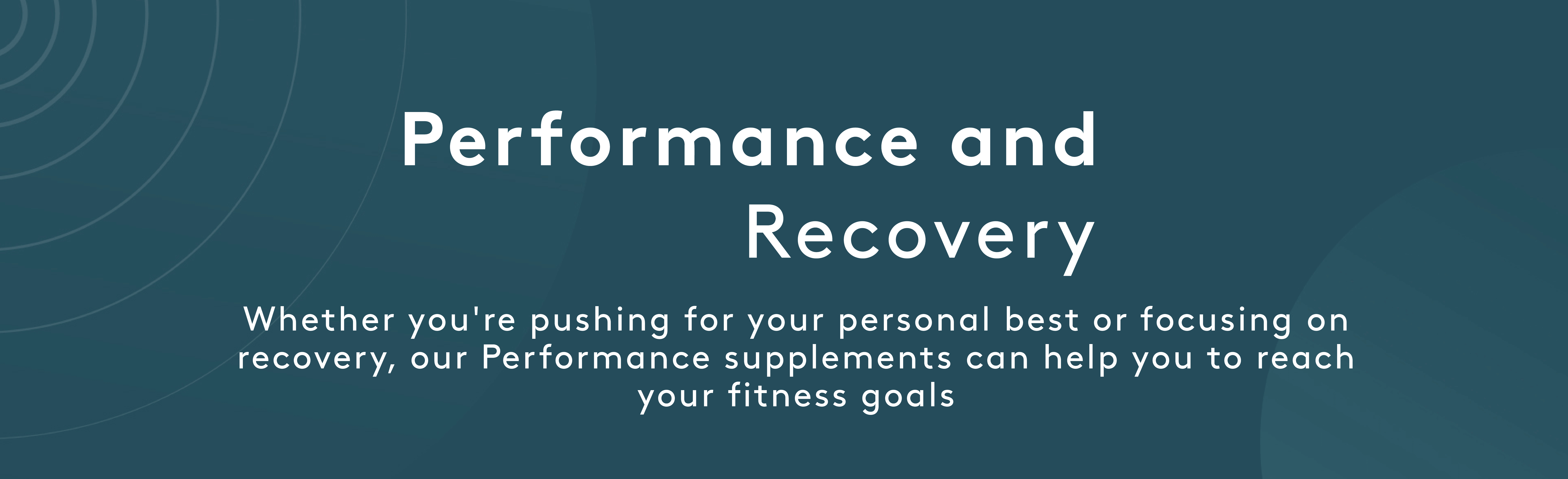 Performance | Myvitamins