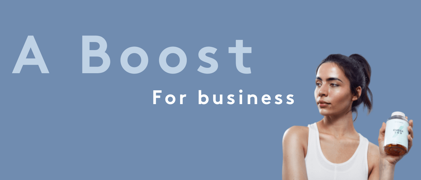 Myvitamins | Boost for Business
