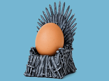 2 Eiserner Thron Eierbecher für 20€