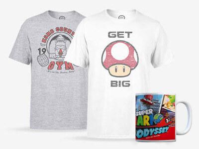 GRATIS NINTENDO TASSE im Wert von 13,69€ beim Kauf eines Nintendo T-Shirts!