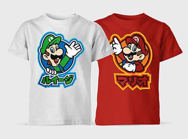 2 Nintendo Kinder T-Shirts für nur 17,55€