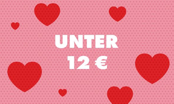 Valentinstag Geschenke unter 12 €